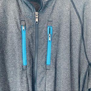 lululemon athletica Jackets & Coats - Men's Gray Lululemon Zipup